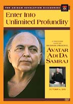 'Enter Into Unlimited Profundity' DVD cover