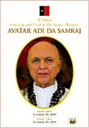 Tribute to Avatar Adi Da - DVD cover
