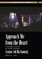 Approach Me from the Heart DVD cover